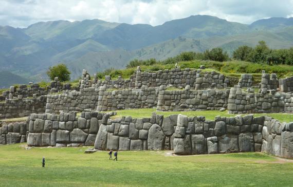 Sacsayhuamán Ruinen