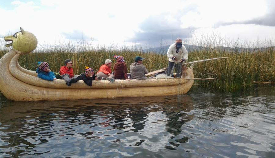 Titicaca See_Uros Inseln