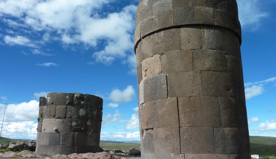 Titicaca See_Chullpas von Sillustani