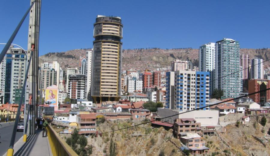 La Paz _Puente de Las Américas