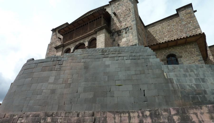 Cusco _Coricancha Sonnentempel