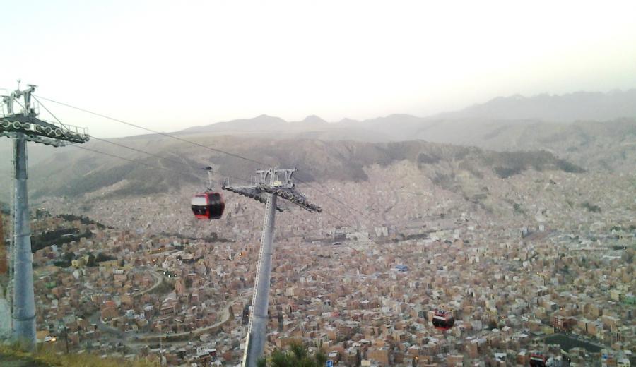 La Paz _Teleferico Rojo