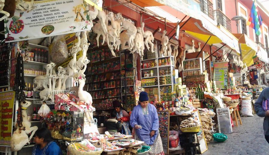 La Paz _Hexen-Markt
