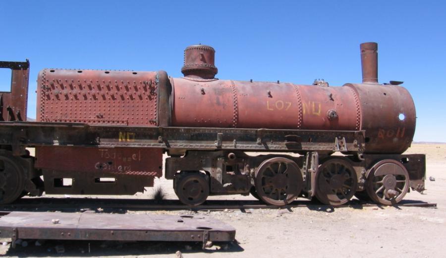 Uyuni_Cementerio de Ferrocarriles
