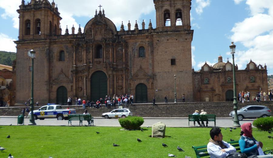 Cusco _Kathedrale von Cusco
