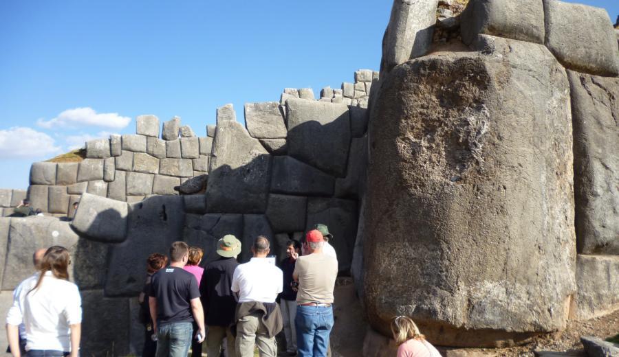 Cusco _Sacsayhuamán Ruinen