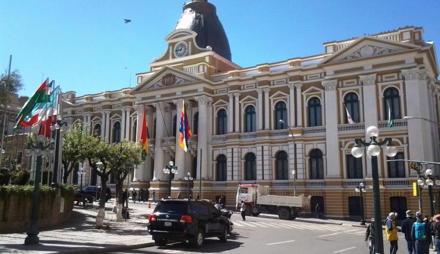 La Paz _Palacio Quemado