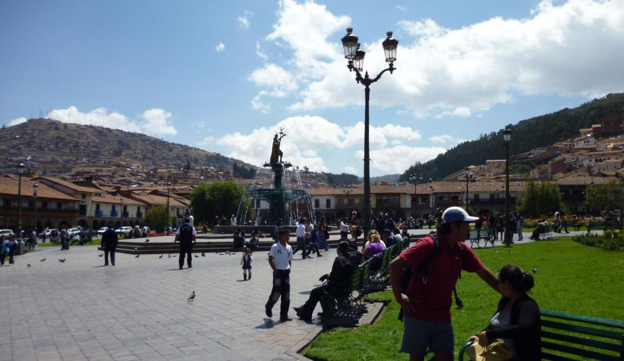 Cusco _Plaza de Armas von Cusco