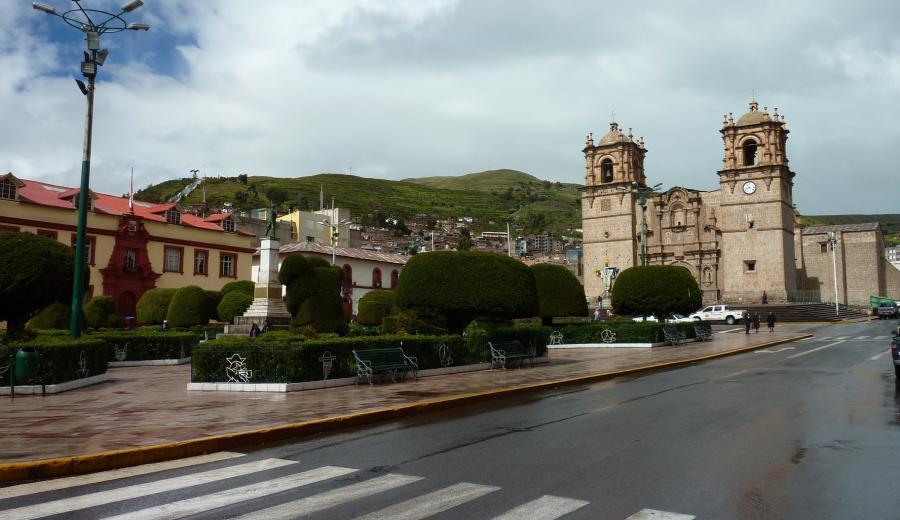 Titicaca See_Kathedrale von Puno