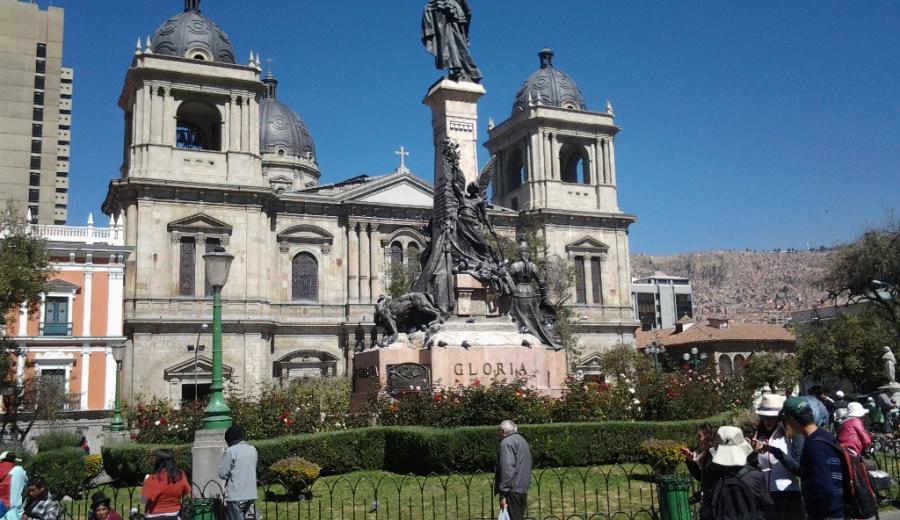 La Paz _Kathedrale von la Paz