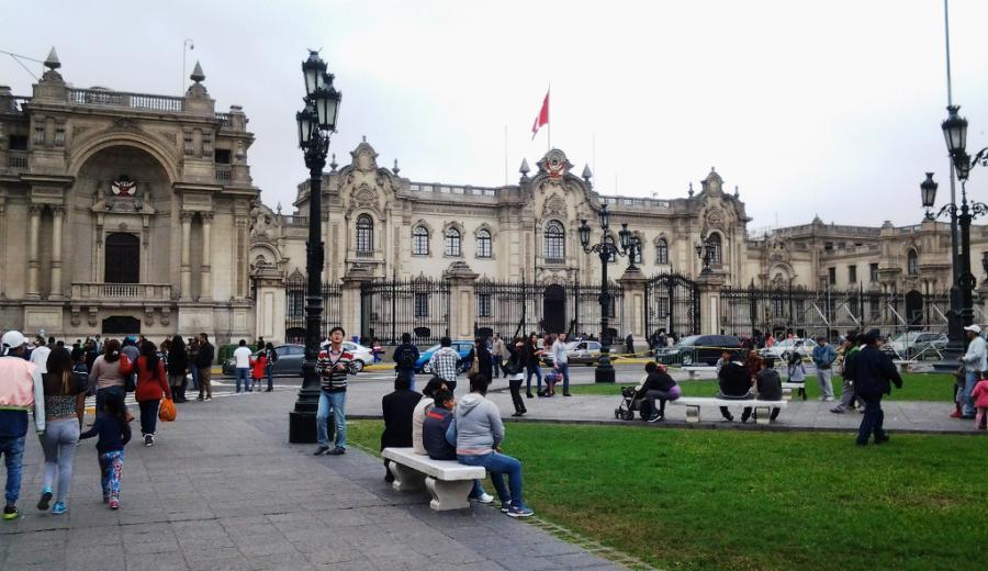 Lima_Palacio de Gobierno de Lima