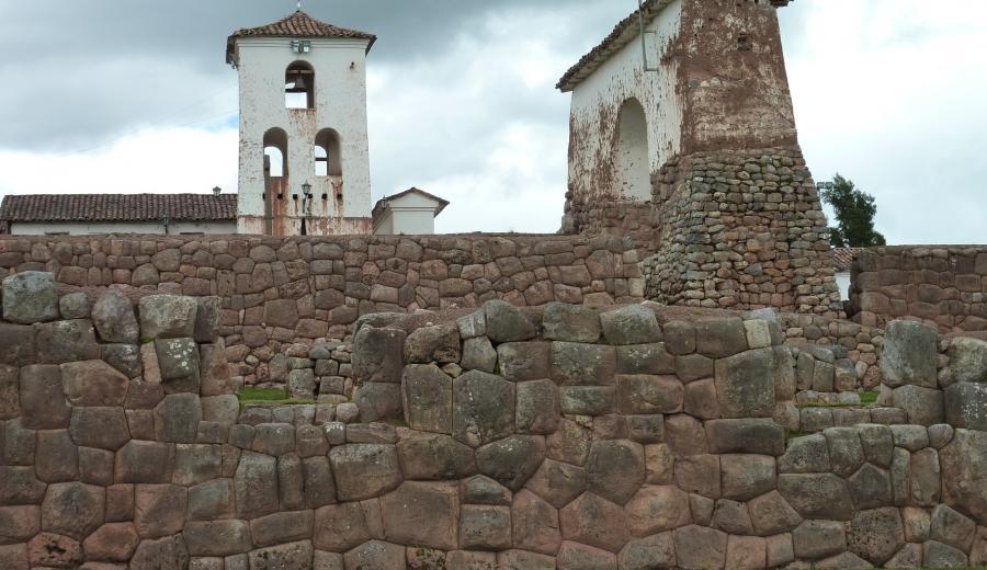 Cusco _Dorf von Chinchero