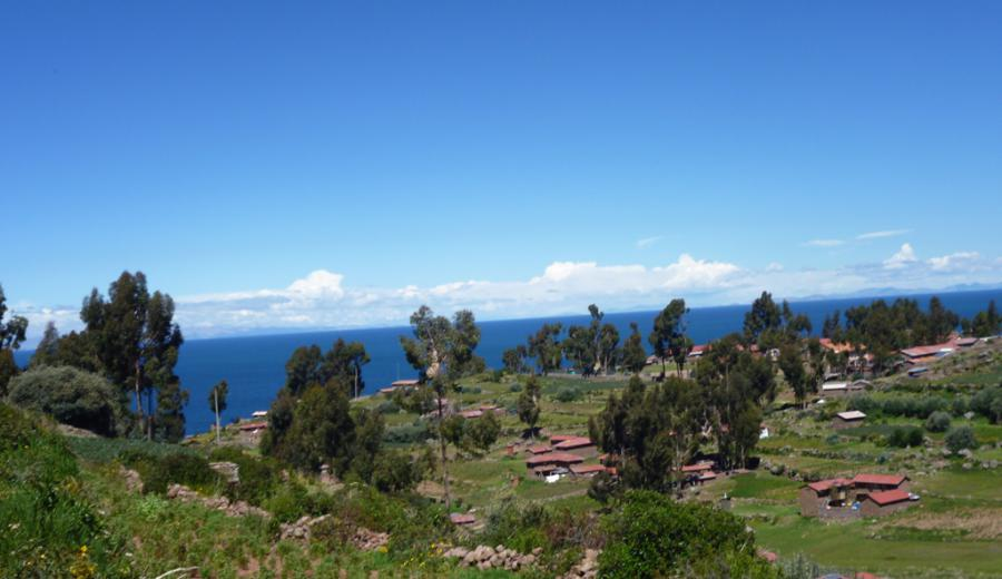Titicaca See_Taquile Island
