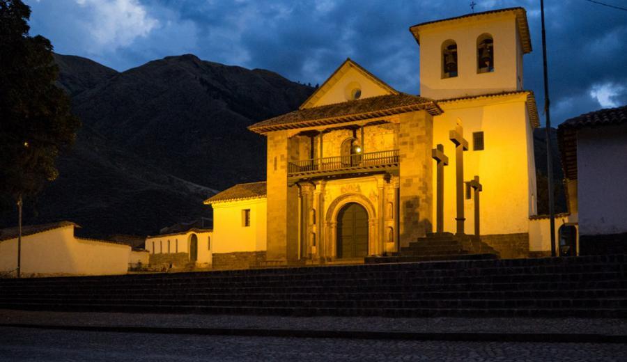 Cusco _Kirche von Andahuaylillas