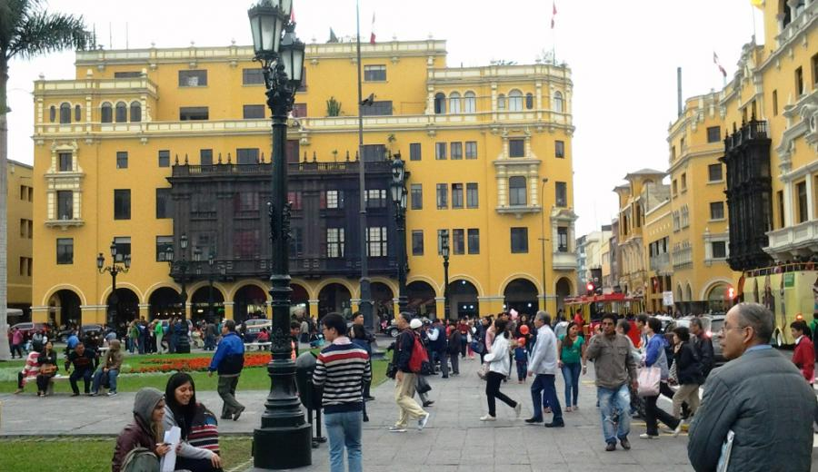 Lima_Plaza Mayor von Lima