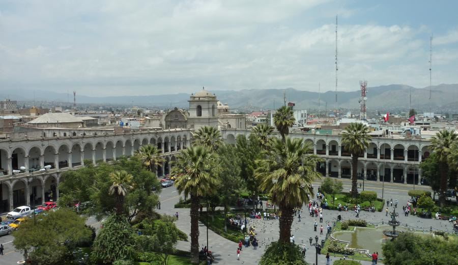 Arequipa_Plaza de Armas von Arequipa