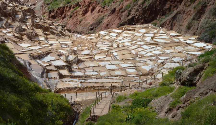 Cusco _Maras Salz-Minen